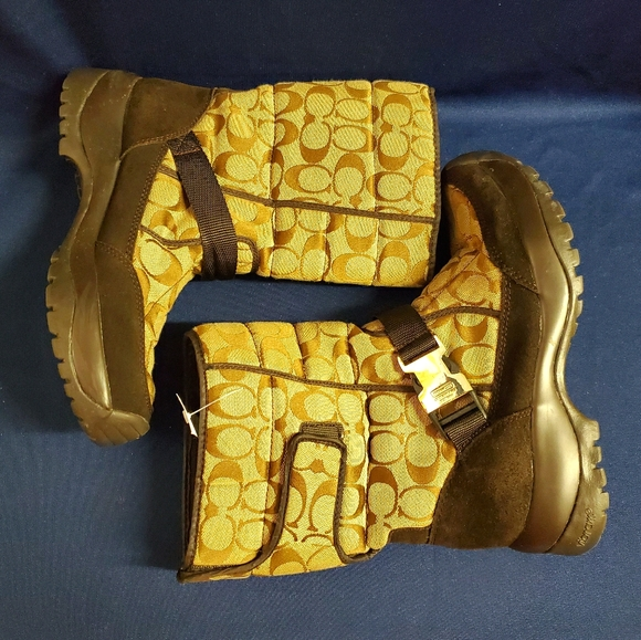 Coach Boots with Vibram Soles
